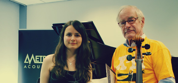 Natalia Ivashina en Lucas Bunge