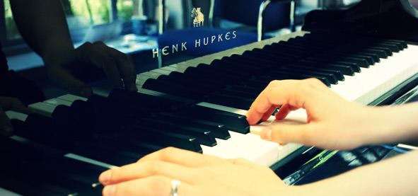 Vleugel Henk Hupkes